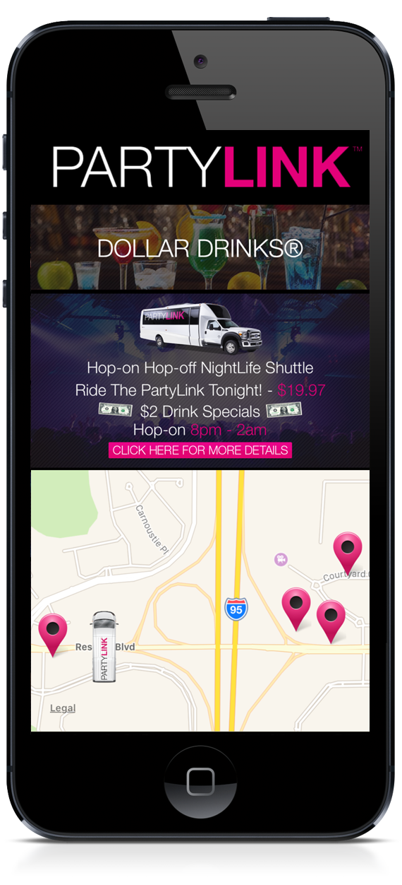 PartyLink Mobile App